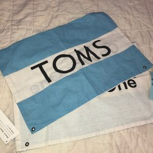 Toms shoe bags